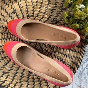 Talbots round toe heels a 7.5